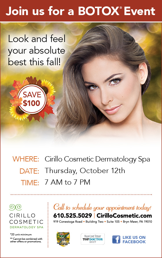 October 2017 Botox Special Email