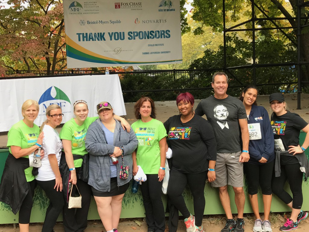 Cirillo Dermatology at Philly's Melanoma Run