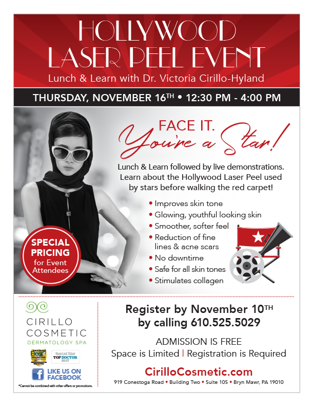 November cosmetic treatment specials